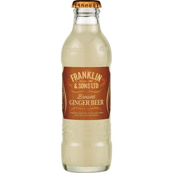 Brewed ginger beer