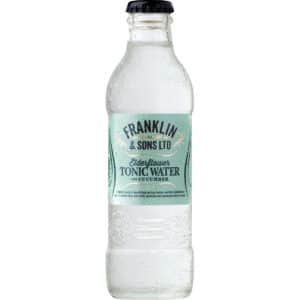 Franklin & Sons Elderflower Tonic Water with Cucumber