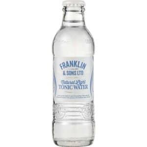 Natural light tonic water