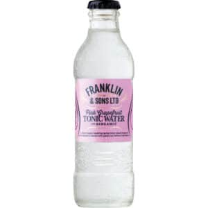 Franklin & Sons Pink Grapefruit Tonic Water with Bergamot