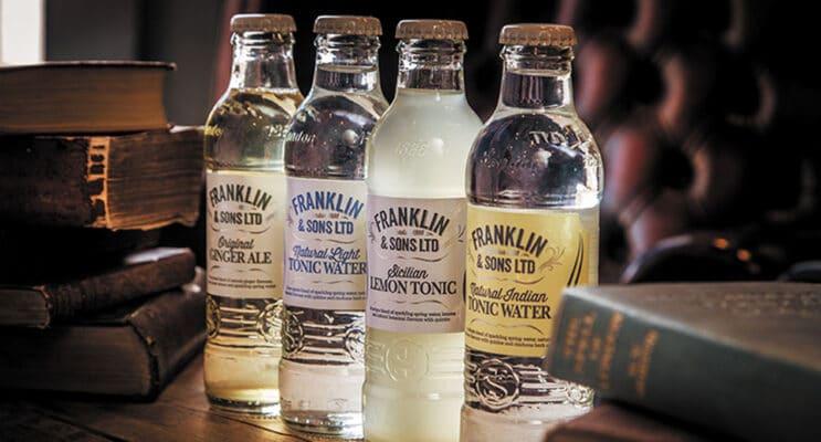 Tonics & Mixers van Franklin & Sons